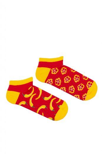 Pánské nepárové kotníkové ponožky Milena Avangard 1108