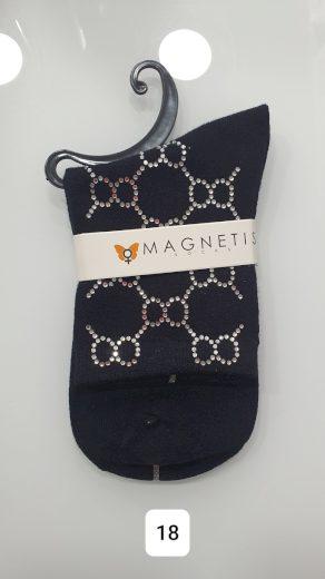 Bavlněné vzorované ponožky 17