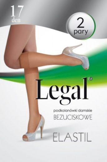 Dámské podkolenky Legal Elastil