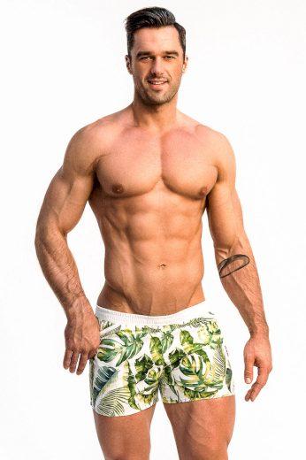 Pánské plavkové šortky Alpha Male Playo Palm
