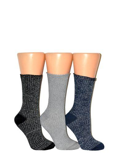 Dámské ponožky Milena Lurex 1023