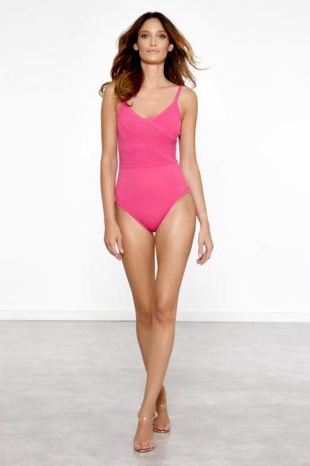 Meryan Melhorn  Dámské jednodílné plavky, Barva:  růžová, velikost: 42