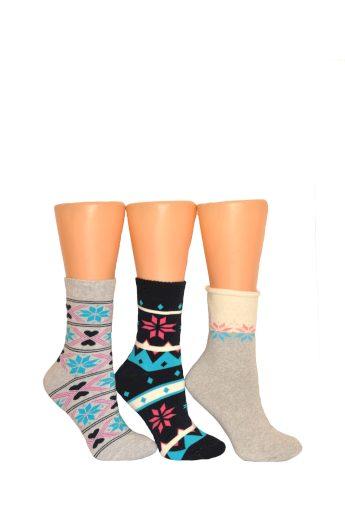 Dámské netlačící ponožky Milena Froté 0118