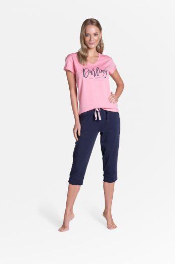 Dámské pyžamo Henderson Ladies 38901 Tulip kr/r S-2XL