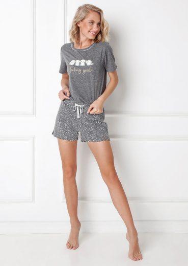 Dámské pyžamo Aruelle Emma Short kr/r XS-2XL