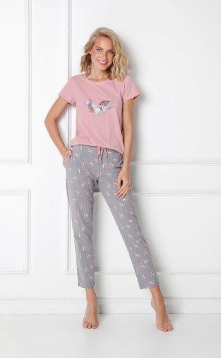 Dámské pyžamo Aruelle Felicia Long kr/r XS-2XL