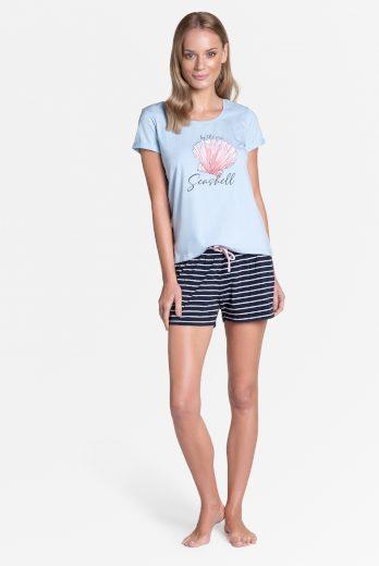 Dámské pyžamo Henderson Ladies 38896 Tickle kr/r S-XL