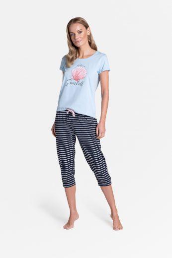 Dámské pyžamo Henderson Ladies 38897 Tickle kr/r S-XL