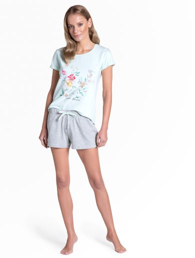 Dámské pyžamo Henderson Ladies 38888 Tamia kr/r S-XL