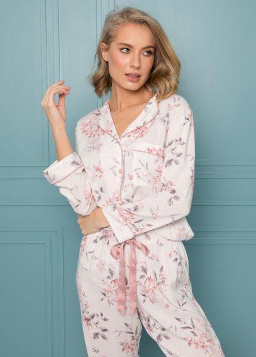 Dámské pyžamo Aruelle Daphne Long dł/r XS-2XL