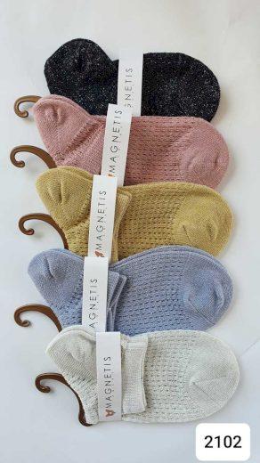 Vzorované ponožky 2102
