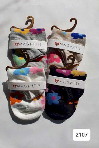 Vzorované ponožky 2107