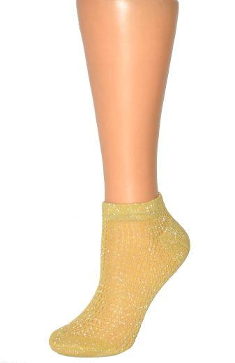 Dámské ponožky Magnetis 13529 Ažura, lurex