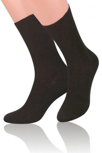 Pánské ponožky 018 brown - Steven
