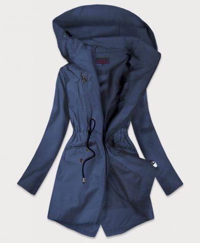 Tmavě modrá tenká dámská bunda (2029)