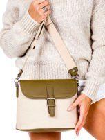 Dámská látková kabelka s klopou 5703-1 - LUIGISANTO