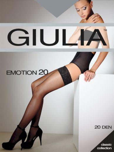 Samodržící punčochy EMOTION 20 - GIULIA
