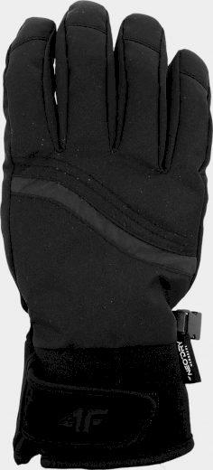 Dámské lyžařské rukavice 4F RED251 černé