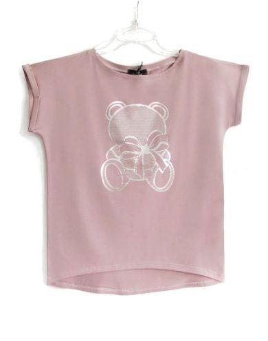 Dámské tričko AJS 9040 Medvídek