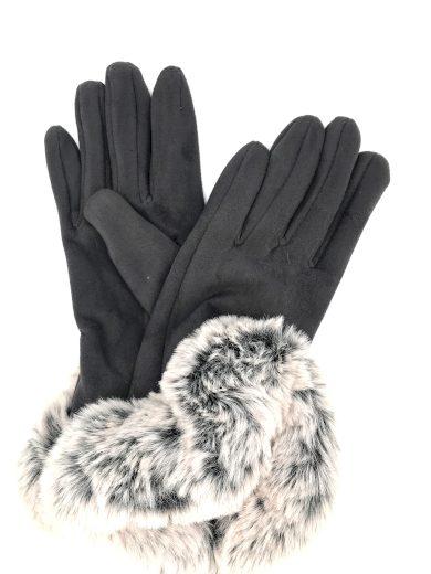 Dámské rukavice G-1410 šedá - Gemini