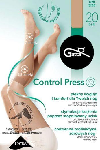 Dámské kompresní podkolenky Gatta Control Press