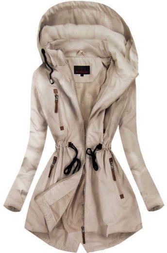 Dámský kabát - parka 2028 - 6/8Fashion