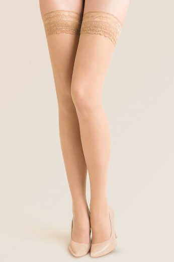 Samodržící punčochy Calze sable - GABRIELLA