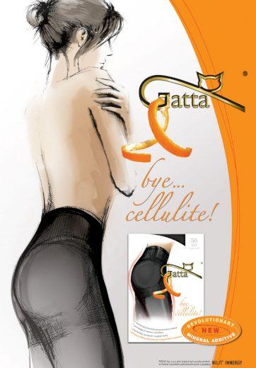Dámské punčochy Beauty bye cellulite 50 den - Gatta