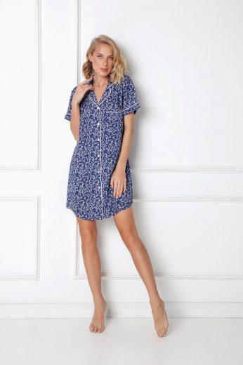 Dámská noční košile Aruelle Lilianne Nightdress kr/r S-2XL
