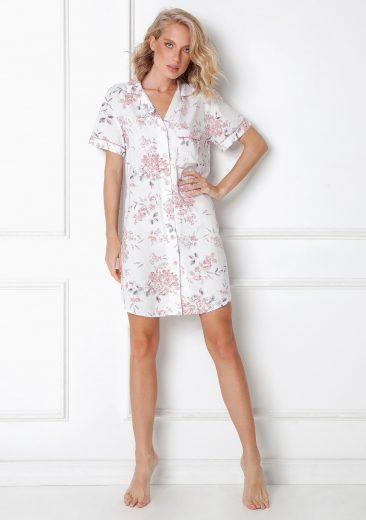 Dámská noční košile Aruelle Daphne Nightdress kr/r XS-2XL
