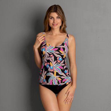 Dámské plavky Noemi Top Tankini - horní díl M0 8853 - Rosa Faia