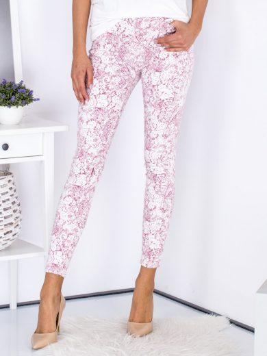Dámské kalhoty se vzory DJ426 - FPrice