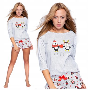 Dámské pyžamo WINTER PINGU - Sensis