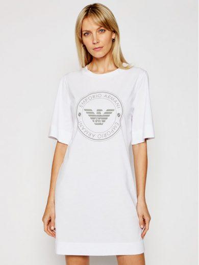 Dámská noční košilka 164456 1P255 00010 bílá - Emporio Armani