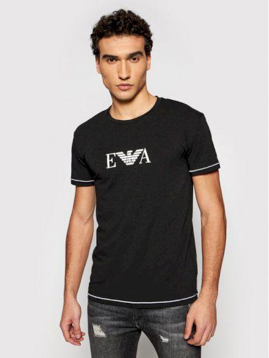 Pánské tričko 111035 1P523 00020 černá - Emporio Armani