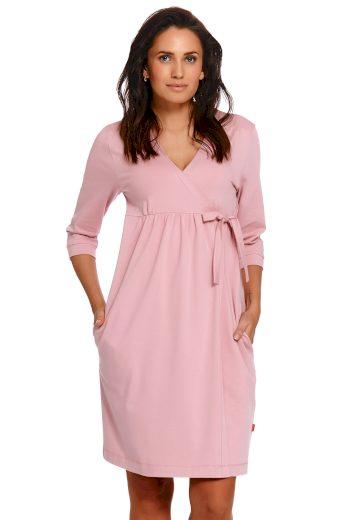 Těhotenský/kojící župan Dn-nightwear SBL.4243