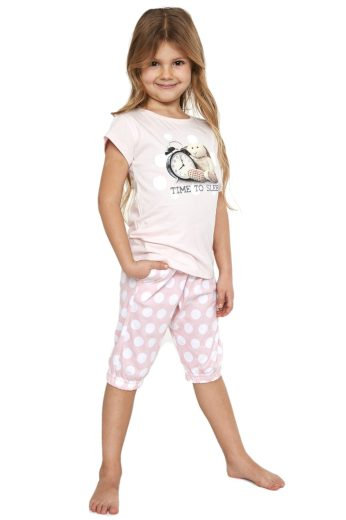 Dívčí pyžamo Time to sleep - CORNETTE