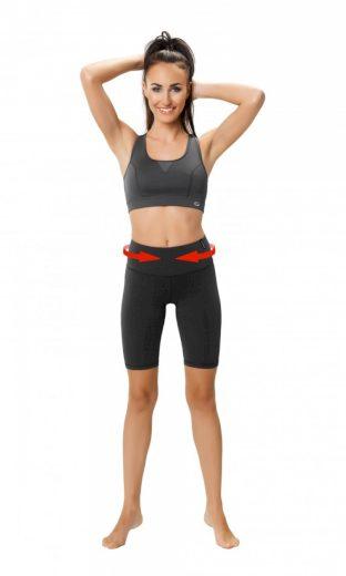 Fitness šortky Slimming shorts - WINNER
