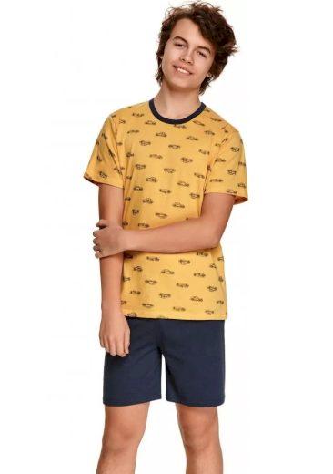 Dětské pyžamo Taro 390 104 Zlatá