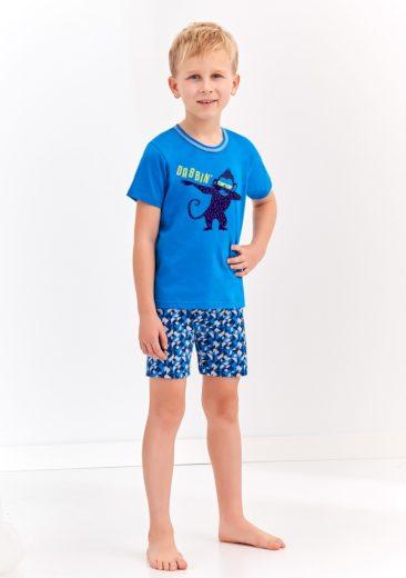 Chlapecké pyžamo Taro 944 104 Modrá