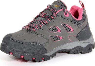 Dětská treková obuv Regatta RKF572 Holcombe Low Jnr II šedá