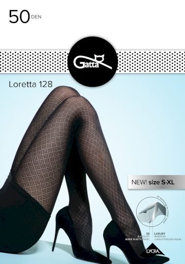 Dámské punčochové kalhoty Loretta 128 - 50 den - Gatta