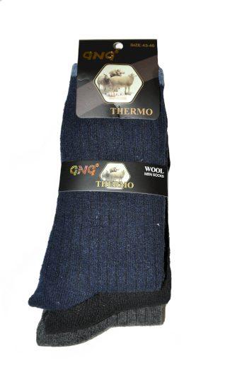 Pánské ponožky GNG 1727 Thermo Wool A'3 - Ulpio