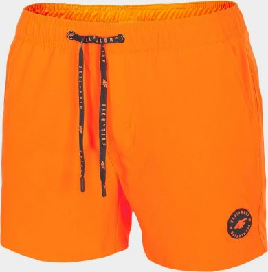 Pánské plážové kraťasy SKMT300 Oranžové