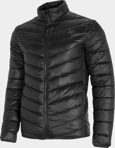 Pánská péřová bunda 4F KUMP300 Černá