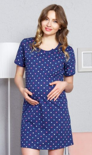 Dámská noční košile mateřská Simona - Vienetta