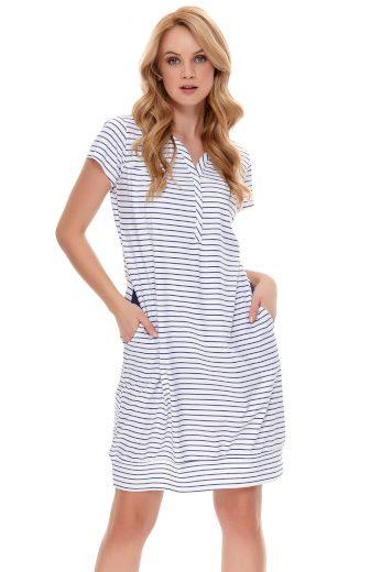 Těhotenská/kojící noční košile Dn-nightwear TCB.9625