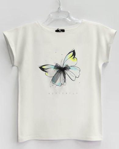 Dámské tričko MOTYL