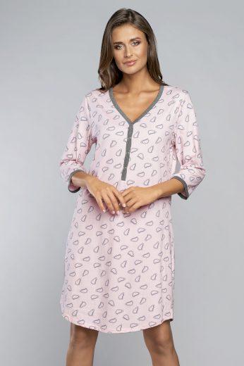 Těhotenská/kojící noční košile Italian Fashion Loja r.3/4