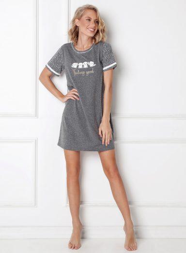 Dámská noční košile Aruelle Emma kr/r XS-2XL